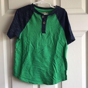 Boys Henley T Shirt